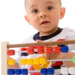 Early learning baby — Stock Photo #7754276