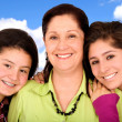 Happy family portrait - smiling — Stock Photo #7754286