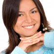 Beautiful latin american girl — Stock Photo