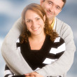 Happy couple portrait - Stockfoto