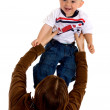 Baby having fun with her mum — Stock Photo #7754393