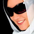 Fashion woman wearing sunglasses - Photo
