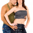 Sexy adult couple — Stock Photo