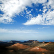 Volcanic landscape - Stock Photo