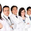 Confident doctors team — Stock Photo