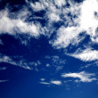 Beautiful blue sky - Stock Photo