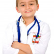 Little boy doctor — Foto Stock