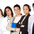 Business professionals - diverse occupations — Stock Photo
