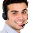Business customer service representative — Stock Photo