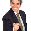 Stock Photo: Good job! - business man