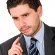 Pensive business man — Stock Photo #7754631