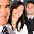 Business team in an office — Stock Photo #7754722