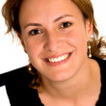 Smiling business woman portrait — Stock Photo #7754773