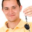 Man with car keys — Stock Photo #7754823