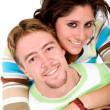 Beautiful couple having fun — Stock Photo #7754832