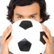 Passion for football — Stock Photo