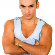 Stock Photo: Casual muscular man portrait