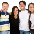Group of casual young — Stock Photo #7754965