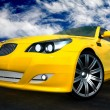 Stock Photo: Sports car illustration