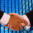 Business handshake deal - Stock Photo