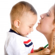 Baby and his mum - mothercare - Lizenzfreies Foto