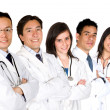 Royalty-Free Stock Photo: Confident doctors team