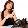 Royalty-Free Stock Photo: Woman on the phone