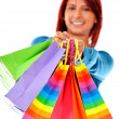 Shopping woman — Stock Photo #7755512