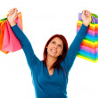 Shopping woman — Stock Photo #7755513