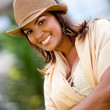 Womwith hat — Stock Photo #7755549