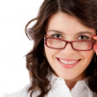 Business woman with glasses — Stock Photo #7755582