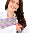 Stock Photo: Medical student