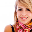 Beautiful girl smiling — Stock Photo #7755745