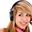 Woman with headphones — Stock Photo #7755797