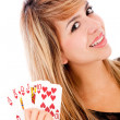 Royal flush in poker — Stock Photo #7755808