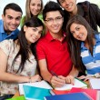 Group of students — Stock Photo #7755930