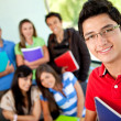 Group of students — Stock Photo #7755933