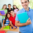 Group of students — Stock Photo #7755934