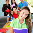Group of students — Stock Photo #7755937