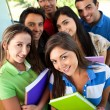 Group of students — Stock Photo #7755938