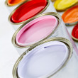 Paint cans - Stockfoto