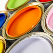 Paint cans — Stock Photo #7755952