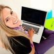 Female student with laptop — Stock Photo #7755963