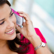 Woman on the phone — Stock Photo #7755985