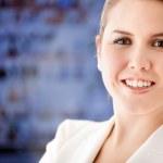 Kobieta biznesu — Zdjęcie stockowe #7756024