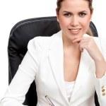 kobieta sukcesu w biznesie — Zdjęcie stockowe #7756028