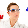 Female chemist — Stock Photo #7756037