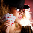 Poker player — Stock Photo #7756189
