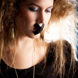 Silenced woman — Stockfoto #7756201
