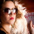 Poker player — Stockfoto